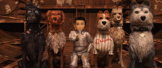 Still of ISLE OF DOGS