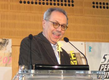 Dieter Kosslick auf der Preisverleihung der Unabhängigen Jurys (Berlinale 2007)